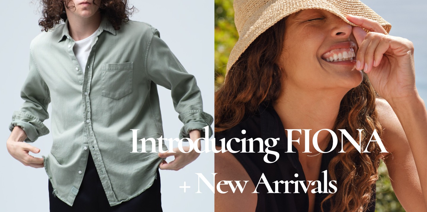 Introducing FIONA + New Arrivals 新作が入荷しました!