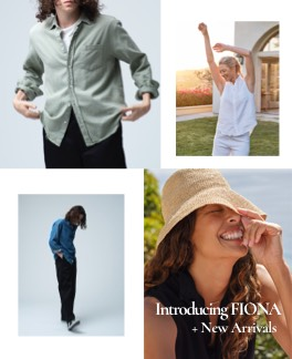 Introducing FIONA<br>+ New Arrivals<br>新作が入荷しました!