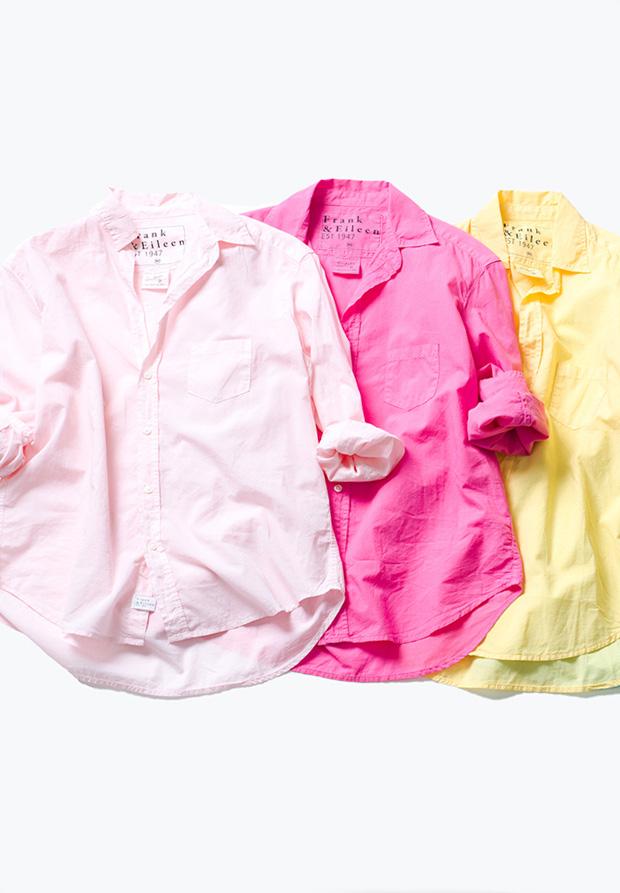 気分まで上がる!フランク&アイリーンの春カラーシャツ